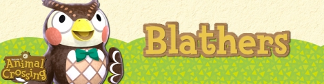 Banner Blathers - Animal Crossing Collection
