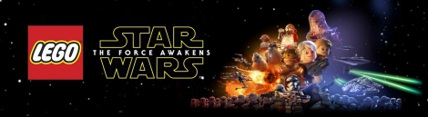 Banner LEGO Star Wars The Force Awakens