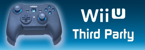 Banner Nintendo Wii U Pro Controller Third Party