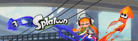 Banner Splatoon