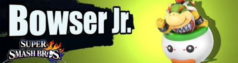 Banner Bowser Jr Nr 43 - Super Smash Bros series