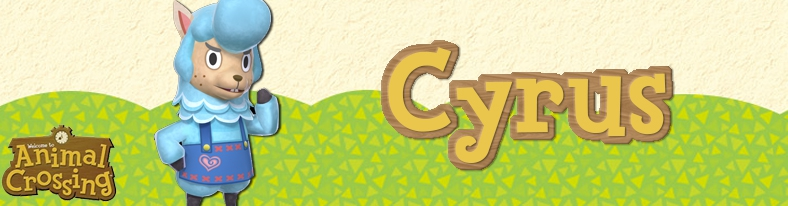 Banner Cyrus - Animal Crossing Collection