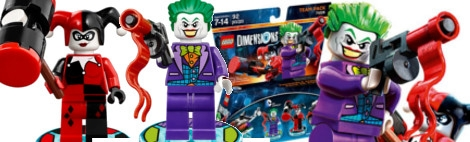 Banner DC Comics - LEGO Dimensions Team Pack 71229