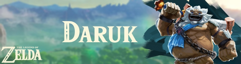 Banner Daruk - The Legend of Zelda Collection