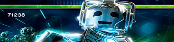 Banner Doctor Who Cyberman - LEGO Dimensions Fun Pack 71238