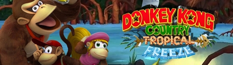 Banner Donkey Kong Country Tropical Freeze