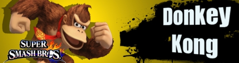 Banner Donkey Kong Nr 4 - Super Smash Bros series