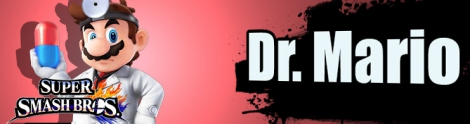 Banner Dr Mario Nr 42 - Super Smash Bros series