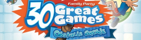 Banner Family Party 30 Great Games Obstacle Arcade