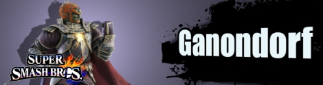 Banner Ganondorf Nr 41 - Super Smash Bros series