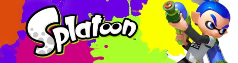 Banner Inkling Boy - Splatoon series