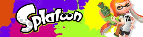 Banner Inkling Girl - Splatoon series