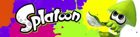 Banner Inkling Squid - Splatoon series