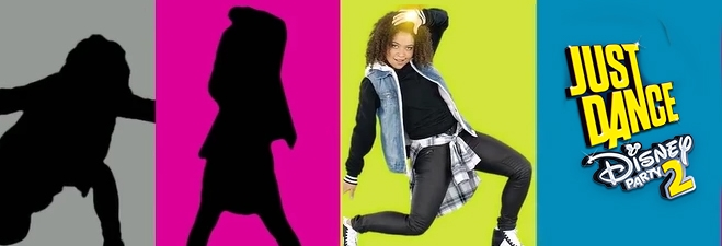 Banner Just Dance Disney Party 2