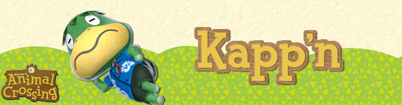 Banner Kappn - Animal Crossing Collection