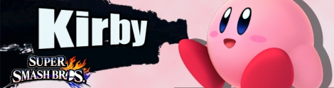 Banner Kirby Nr 11 - Super Smash Bros series