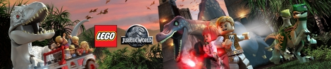 Banner LEGO Jurassic World