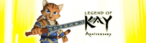 Banner Legend of Kay Anniversary