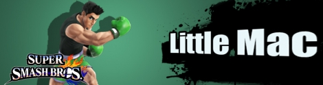 Banner Little Mac Nr 16 - Super Smash Bros series