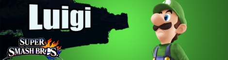 Banner Luigi Nr 15 - Super Smash Bros series