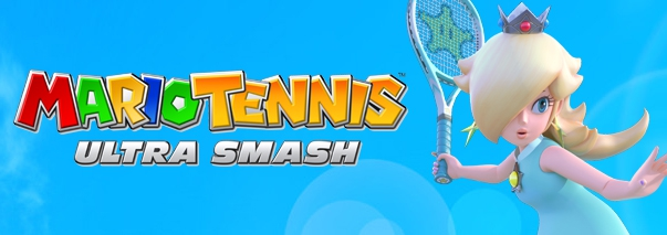 Banner Mario Tennis Ultra Smash