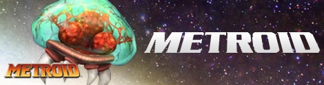 Banner Metroid - Metroid Collection