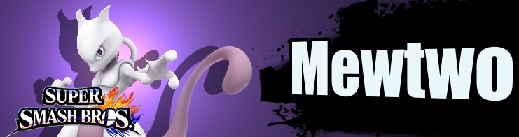 Banner Mewtwo Nr 51 - Super Smash Bros series