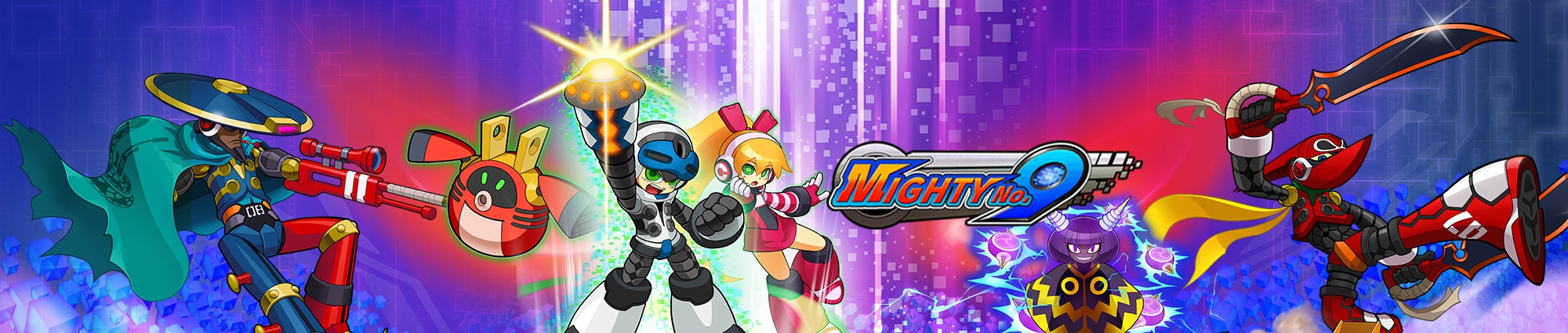 Banner Mighty No 9