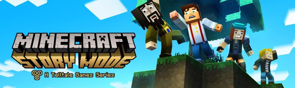 Banner Minecraft Story Mode - The Complete Adventure