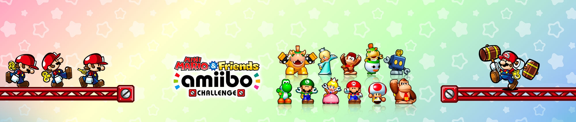 Banner Mini Mario and Friends amiibo Challenge