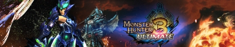 Banner Monster Hunter 3 Ultimate