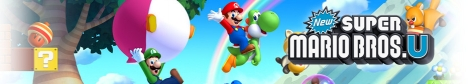 Banner New Super Mario Bros U