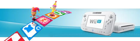 Banner Nintendo Wii U 8GB Basic Pack - Party U Edition