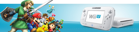 Banner Nintendo Wii U 8GB Basic Pack - Super Smash Bros Edition