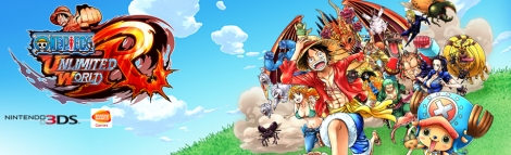 Banner One Piece Unlimited World Red
