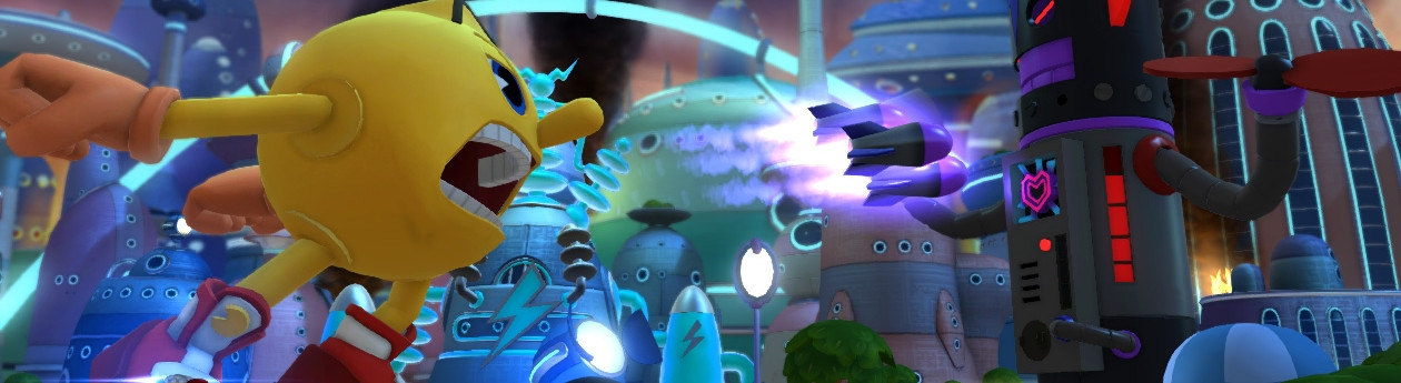 Banner Pac-Man and the Ghostly Adventures 2