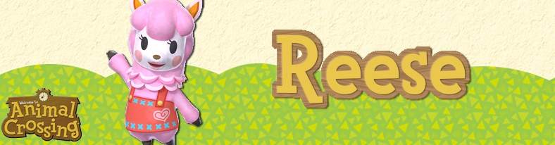 Banner Reese - Animal Crossing Collection