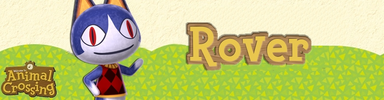 Banner Rover - Animal Crossing Collection