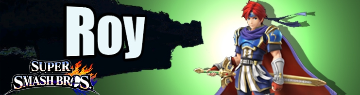 Banner Roy Nr 55 - Super Smash Bros series