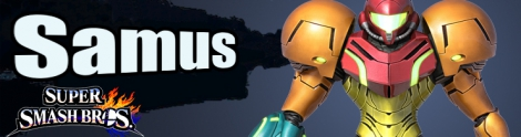 Banner Samus Nr 7 - Super Smash Bros series