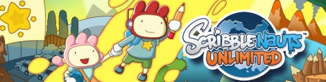 Banner Scribblenauts Unlimited