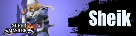 Banner Sheik Nr 23 - Super Smash Bros series