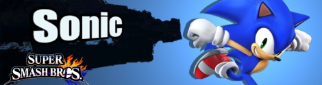 Banner Sonic Nr 26 - Super Smash Bros series