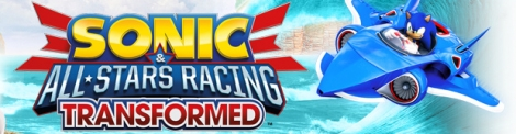 Banner Sonic and All-Stars Racing Transformed