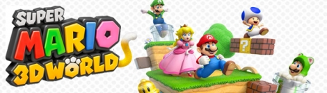 Banner Super Mario 3D World