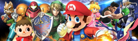 Banner Super Smash Bros for Wii U