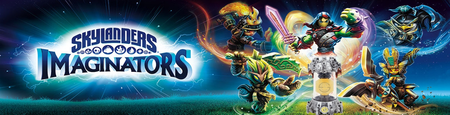 Banner Tech Creation Crystals - Skylanders Imaginators