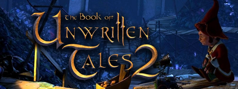Banner The Book of Unwritten Tales 2