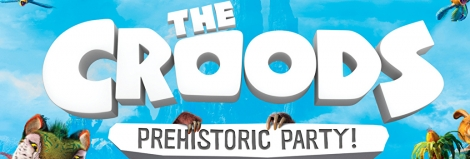 Banner The Croods Prehistoric Party