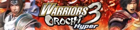 Banner Warriors Orochi 3 Hyper